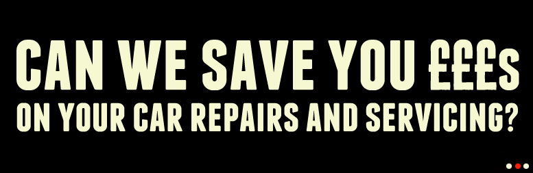 can we save you £££s on your car repairs and servicing?