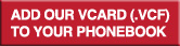 add our vcard to your phonebook